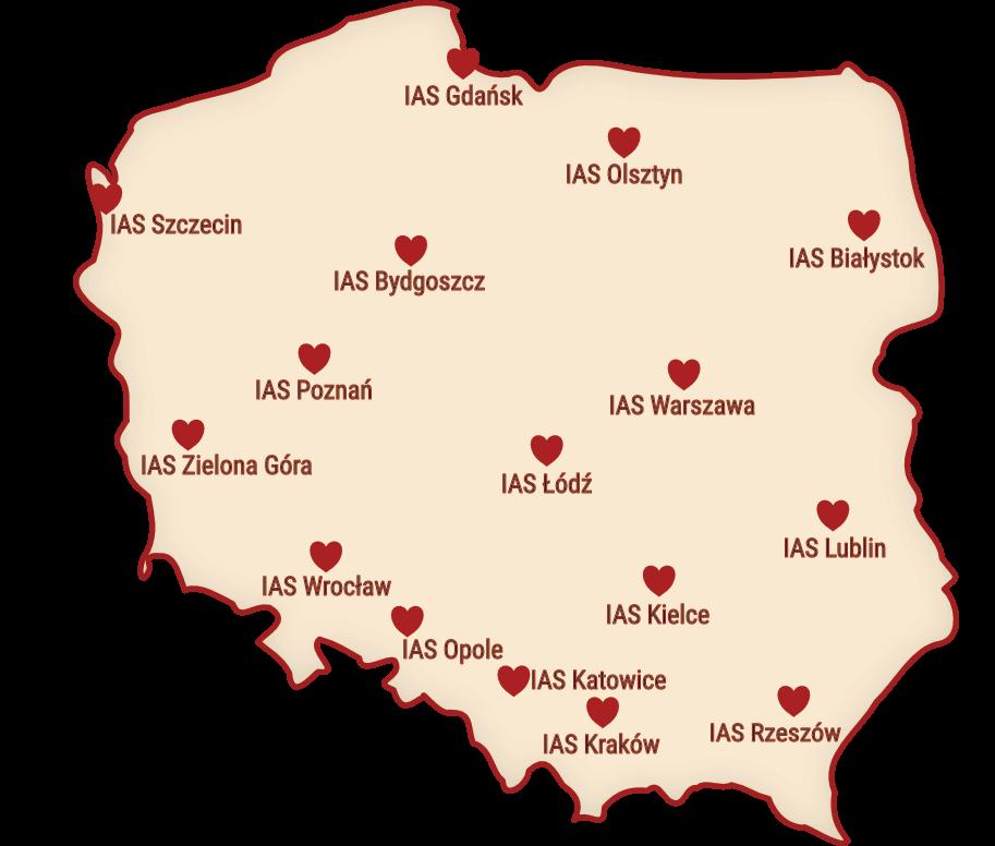 Skarbo-wolontariat mapka