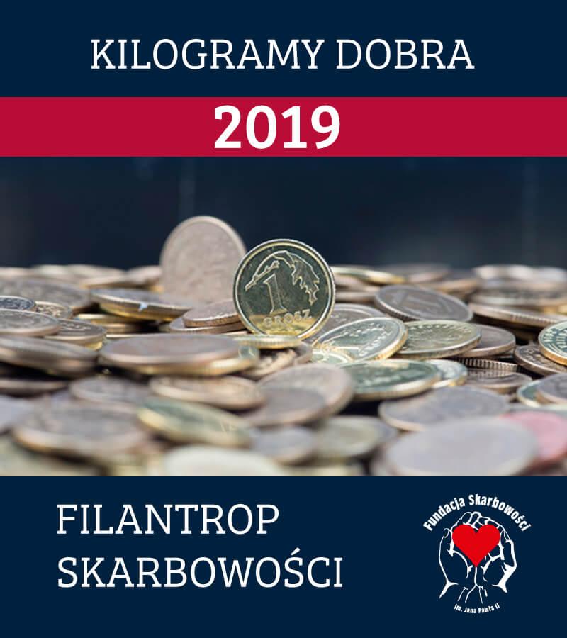 Wkrótce IV Edycja Konkursu Dobroczynnego KILOGRAMY DOBRA 2019 dla KAS.
