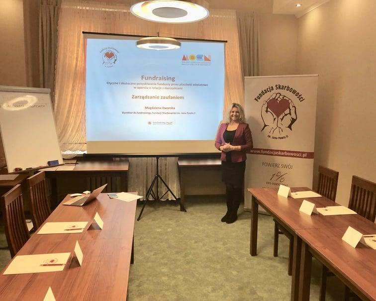 Pilotażowe szkolenia z fundraisingu dla bydgoskich placówek oswiatowych