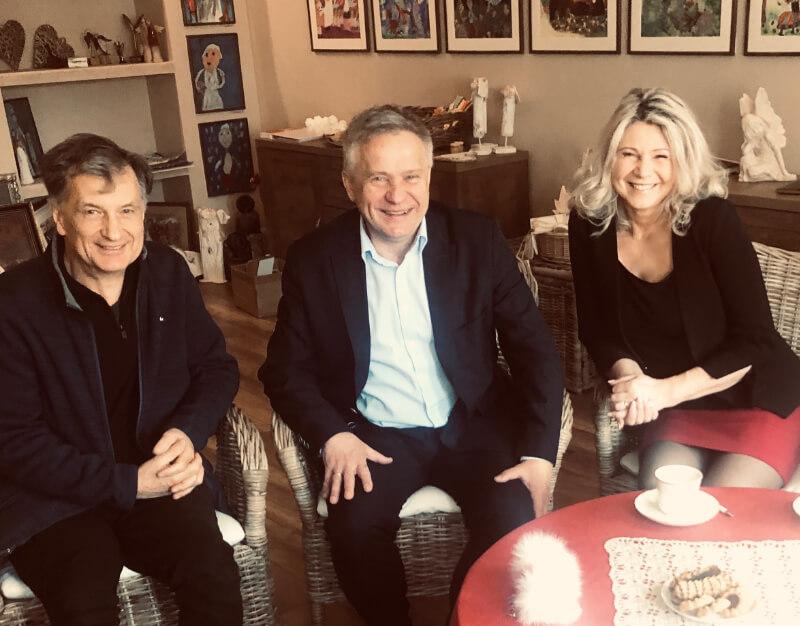Spotkanie z przedstawicielem Polonii z Aucland/Nowa Zelandia