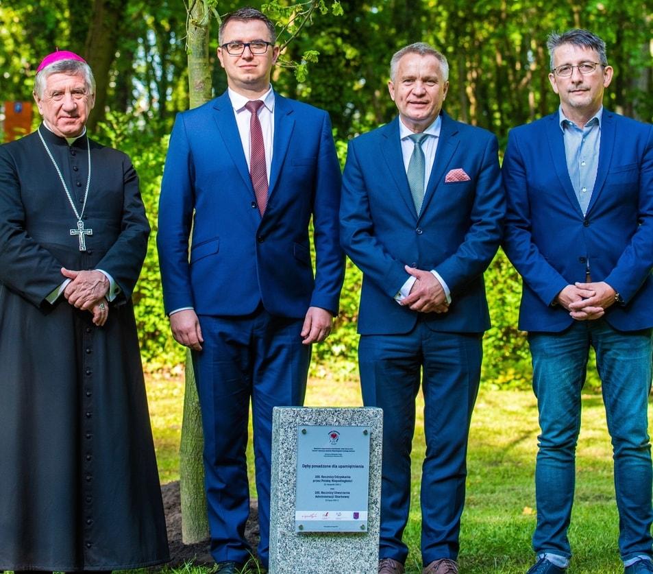 Duchowa strona XVIII Mistrzostw Polski Skarbowców.