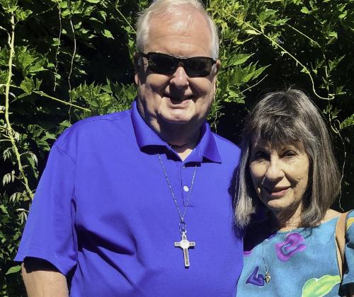 Niezwykłe spotkanie. Paula i David Shigley z Florydyodwiedzili Podopieczną Fundacji – Michalinę Przekwas, którą wspierają od kilku lat