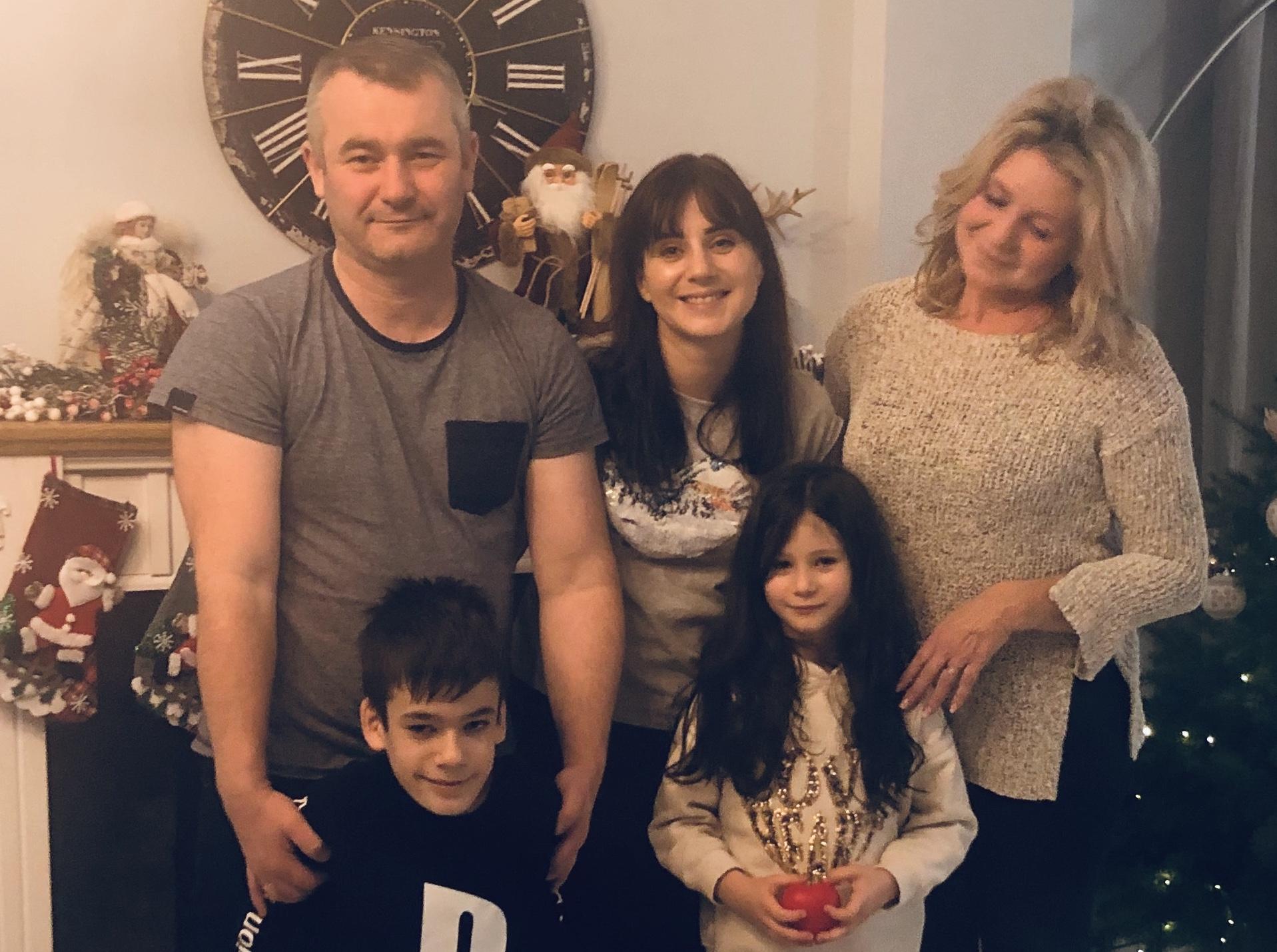 Piękne spotkanie świąteczne z rodziną Podopiecznego Ignasia