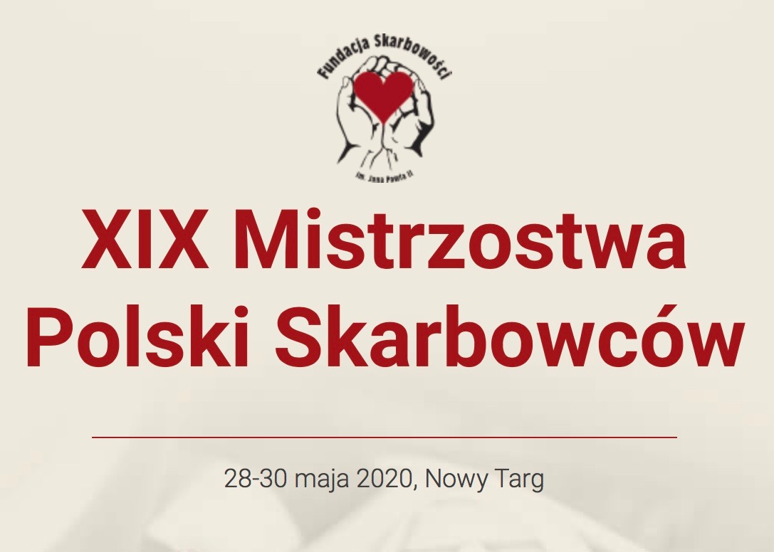 Ważne! Komunikat dla uczestników XIX Mistrzostw Polski Skarbowców o Puchar MF, maj 2020r.